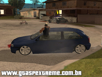 Mod Atirar Dirigindo para GTA San Andreas